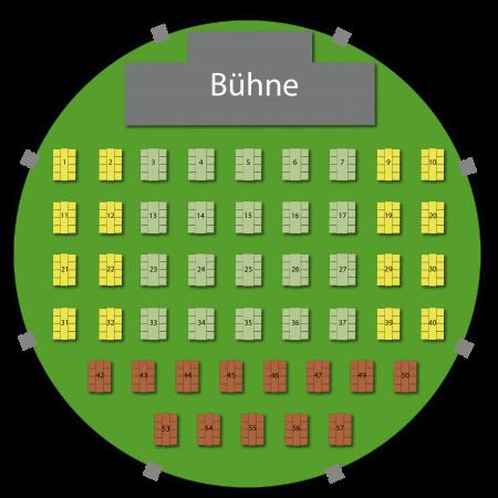 Grüne Soße Festival - Sitzplan 1